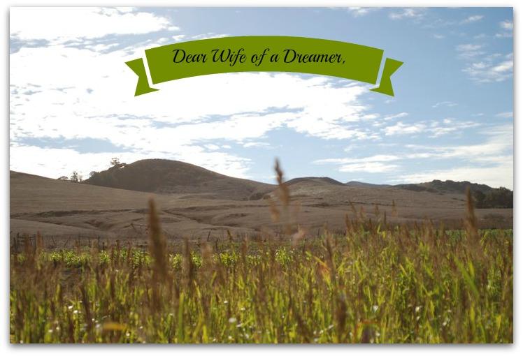 Dear Wife of a Dreamer,
