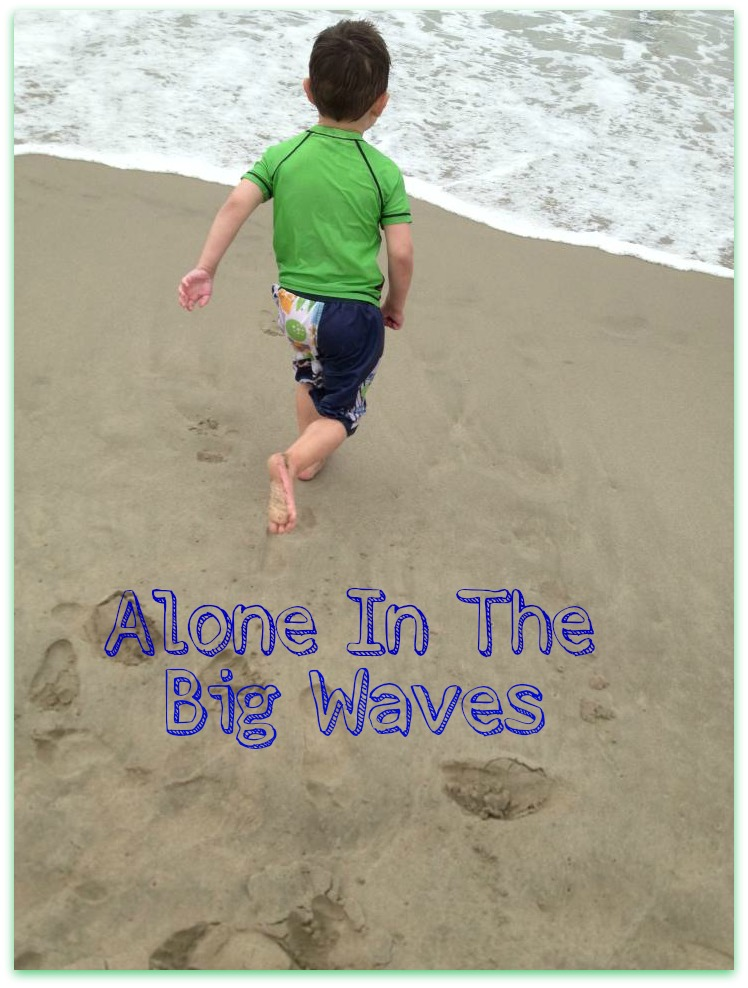 Alone In The Big Waves