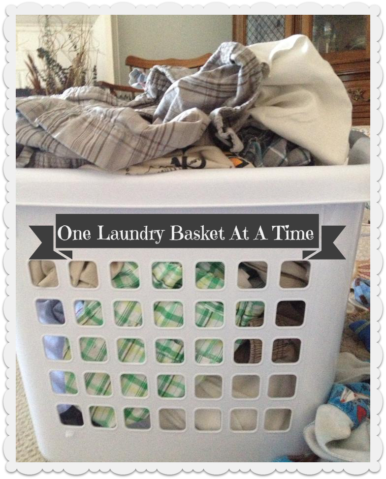 One Laundry Basket At A Time