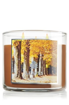 Leaves Candle