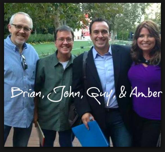 Brian, John, Guy, and Amber