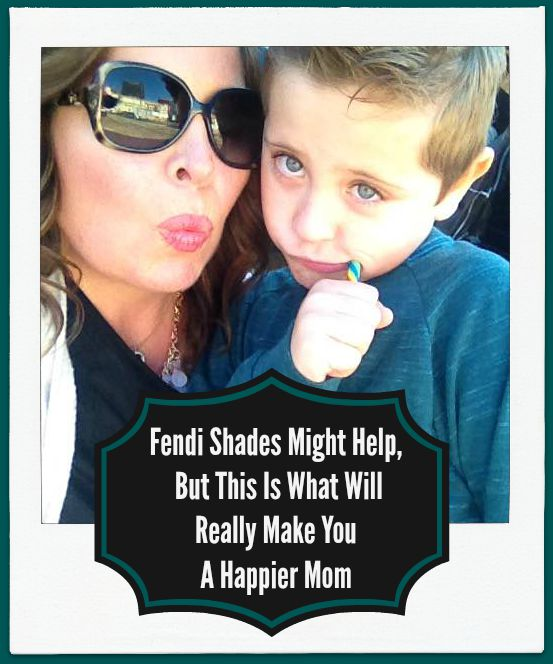 Fendi Shades Might Help, But This Is What Will Really Make You A Happier Mom