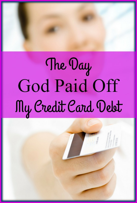 The Day God Paid Off My Credit Card DEBT — Amber Lia