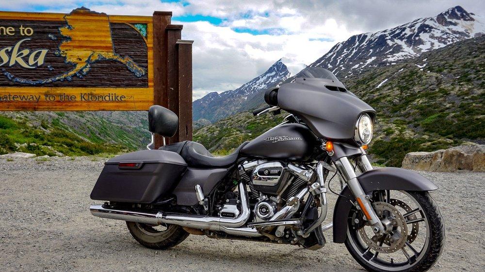 Alaskan Harley