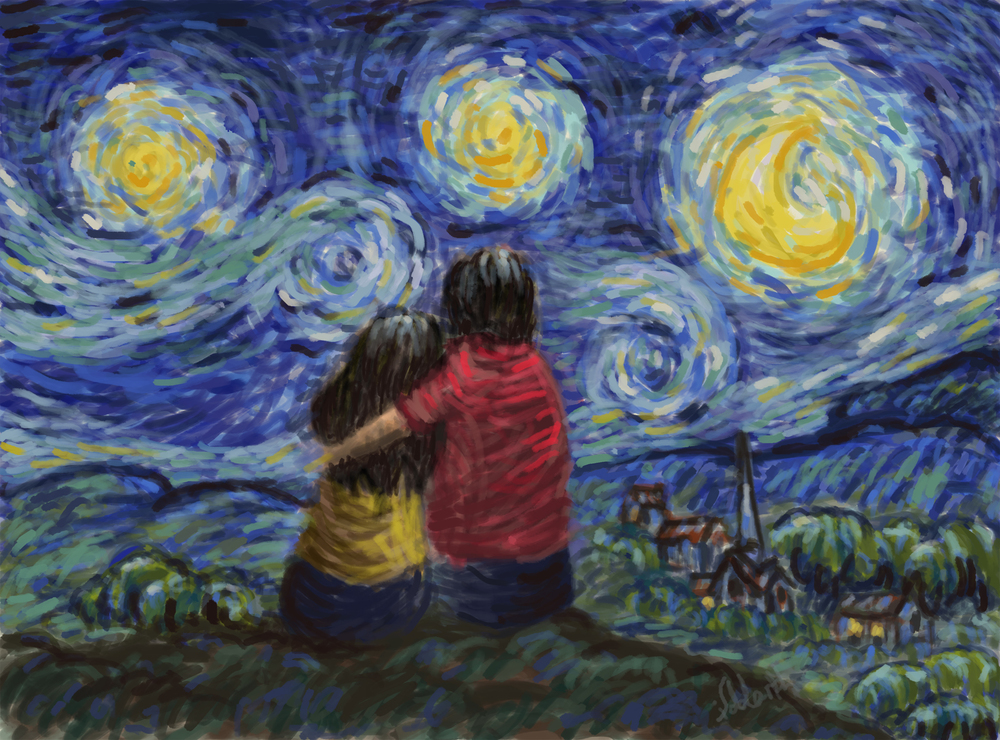 A Different Starry Night