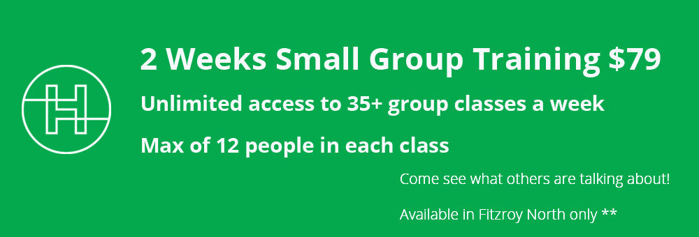 small group training promotional offer