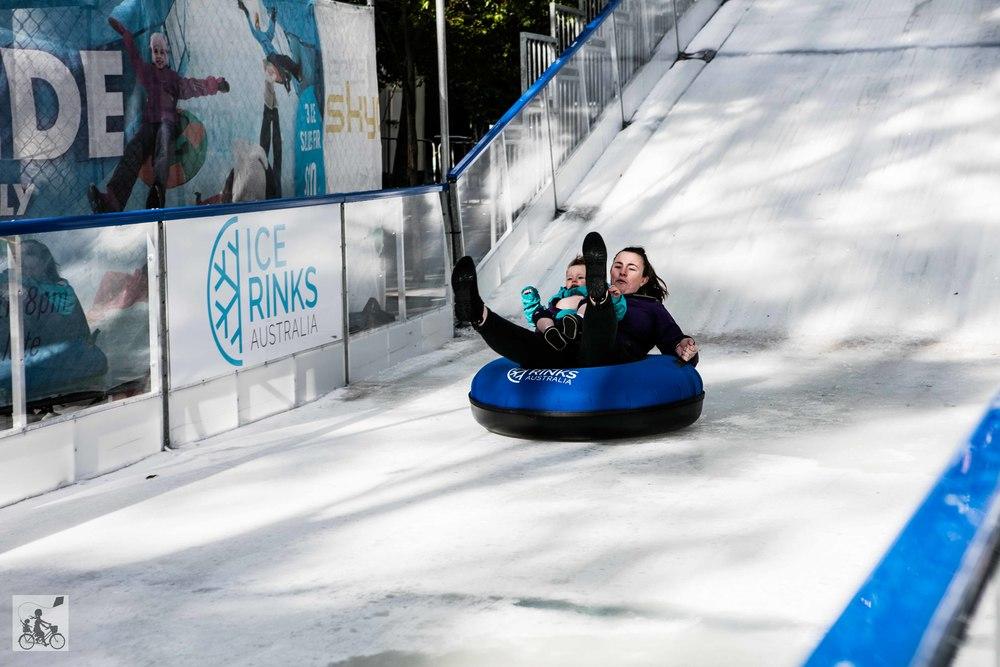 Eureka Tower Giant Ice Slide Melbourne