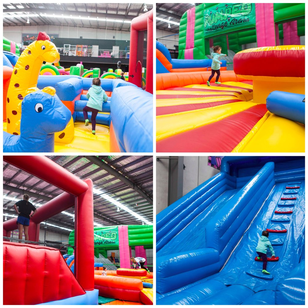 Mamma Knows East - Pakenham Jump Crazy Trampoline Inflatable