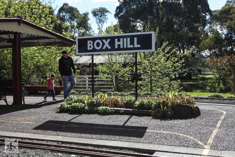 Mamma Knows East - Box Hill Miniature Steam Railway Society Mont Albert