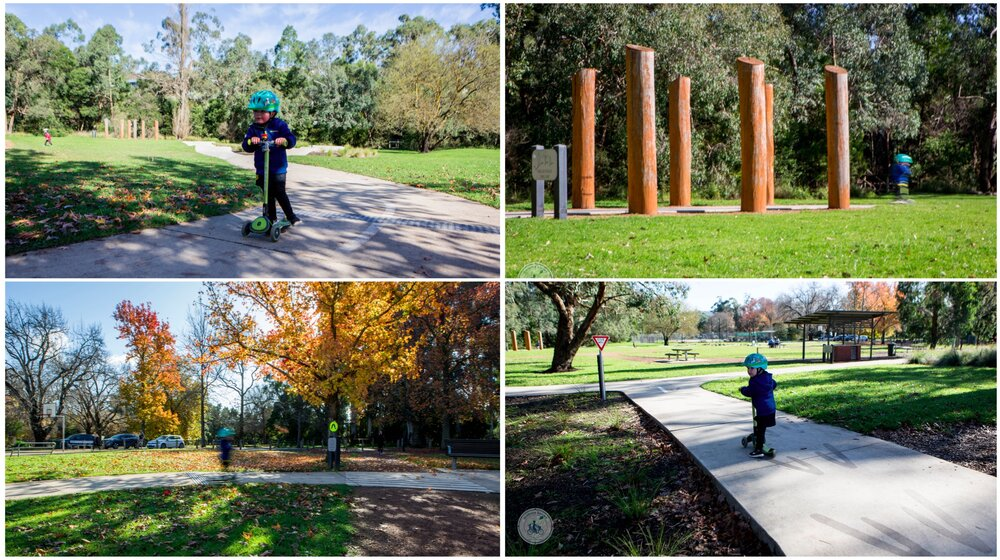 roll play - bike track, healesville — mamma knows east