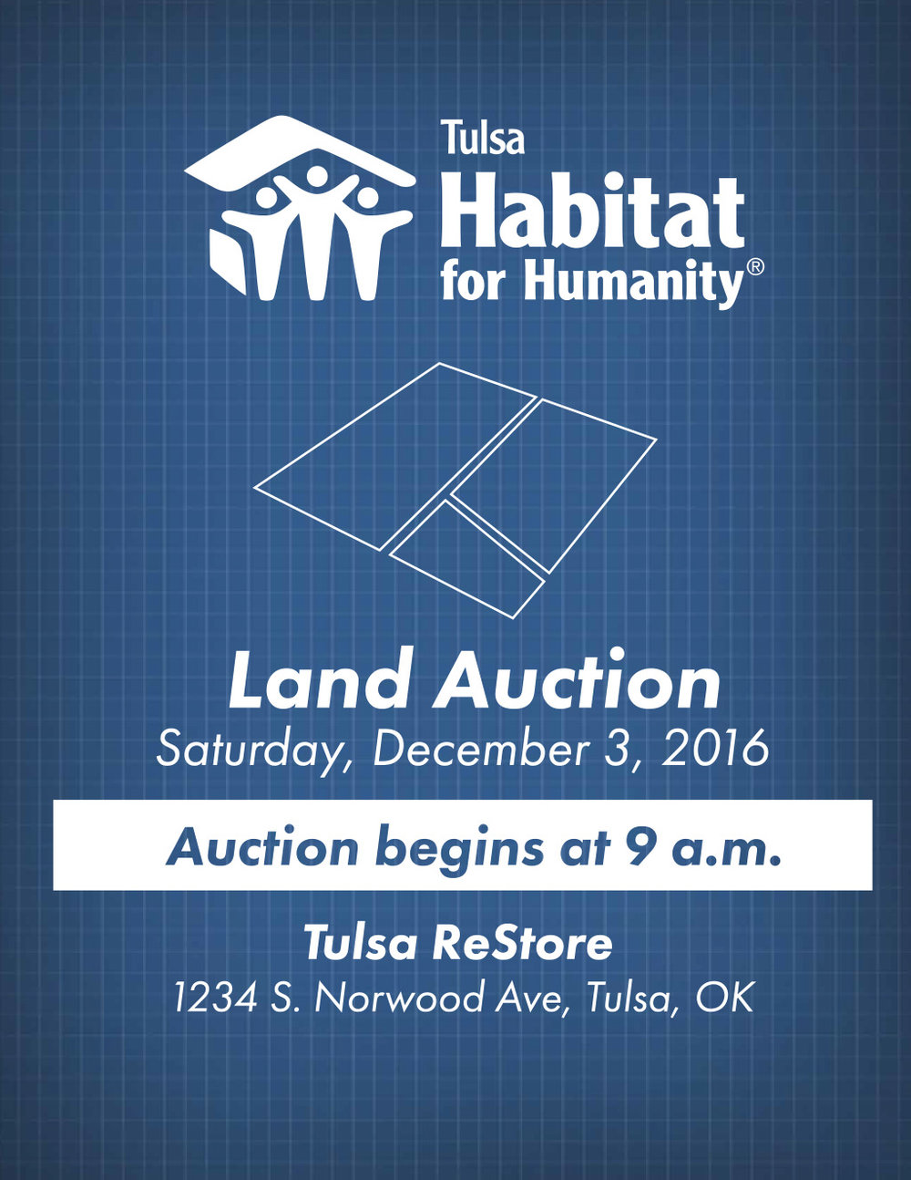 Clark howard sponsoring habitat for humanity house in tulsa - Tulsa Habitat For Humanity Is Holding A Land Auction On December 3 At The Restore The Bidding Will Begin At 9 A M For More Details Please Click On The