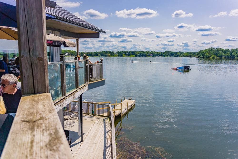 Places to See in Ontario | View from the Patio, Old Marina Restaurant | Puslinch, Ontario
