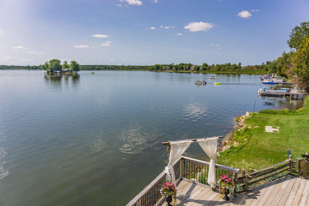 Things to Do in Ontario | Puslinch Lake | View from Old Marina Restaurant | Puslinch, Ontario