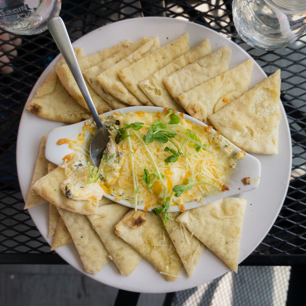 Things to Do in Ontario | Old Marina Restaurant | Spinach Dip | Puslinch, Ontario