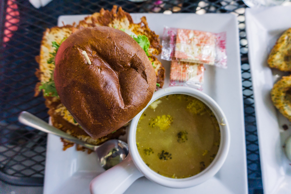Things to Do in Ontario | Old Marina Restaurant | Burger and Turkey Soup | Puslinch, Ontario