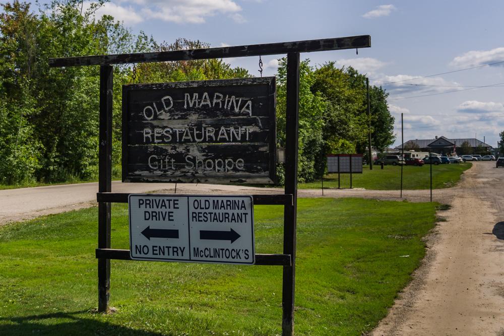 Old Marina Restaurant | Entrance | Puslinch, Ontario