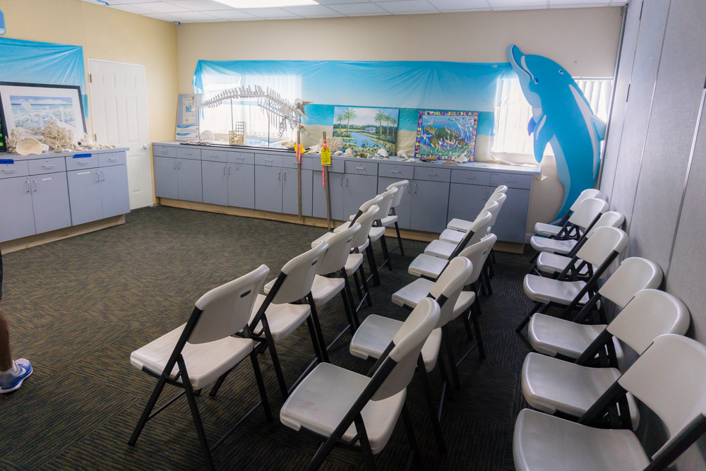Clearwater Marine Aquarium | Education Centre | Documentary Room