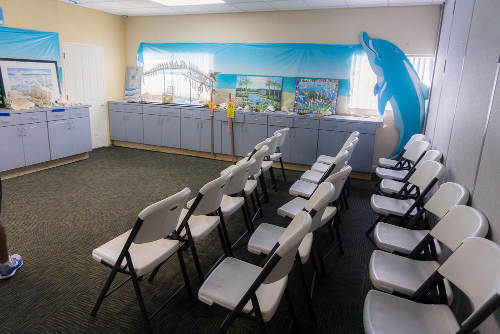 Clearwater Marine Aquarium |Education Centre | Documentary Room