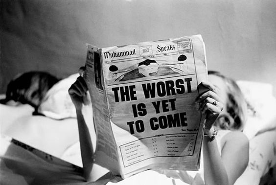 Steve Schapiro The Worst is Yet to Come, New York, c. 1968