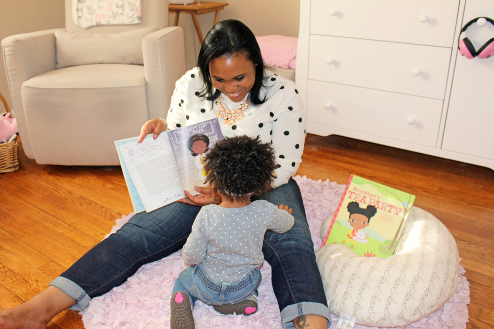 non-traditional baby gift ideas - personalized books | Pish Posh Perfect