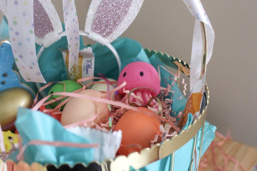 Toddler Easter Basket | Pish Posh Perfect