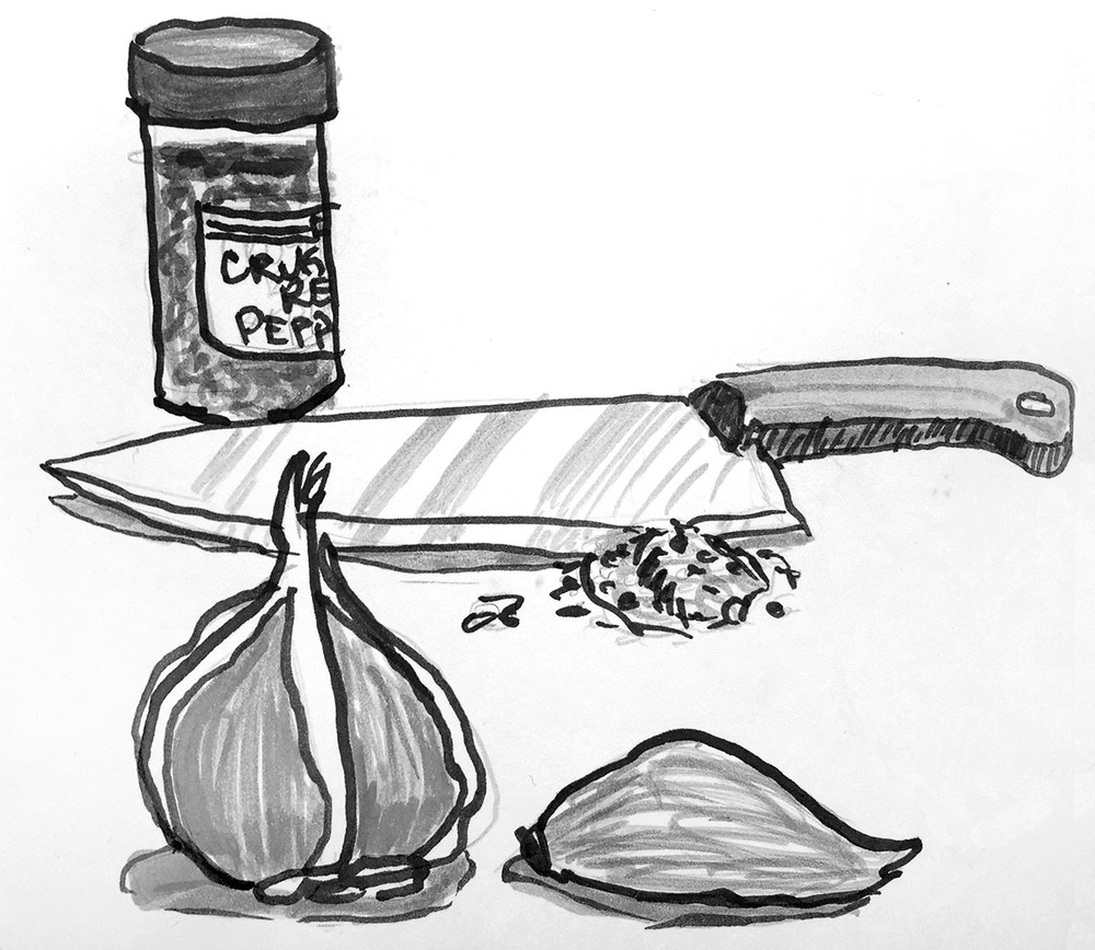 Garlic for sauce