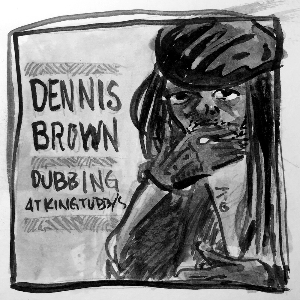 Dennis Brown at King Tubbys