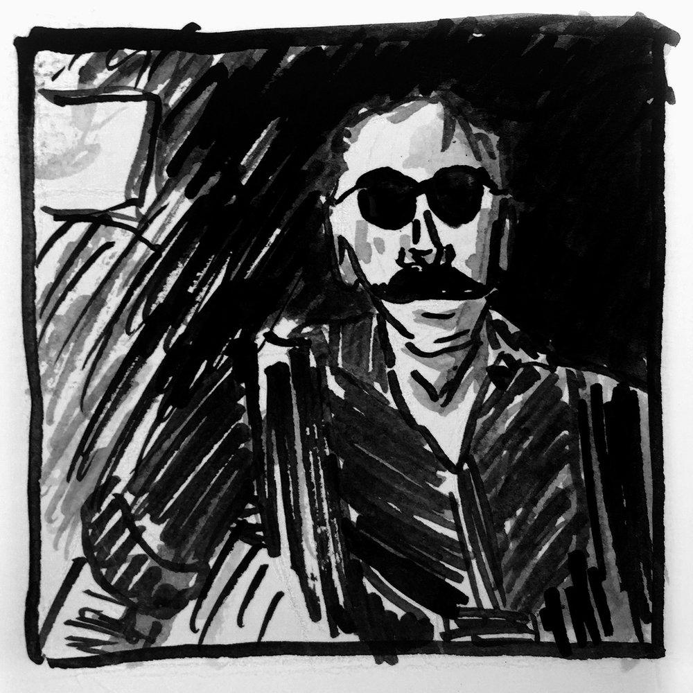 Oblique Portraits Andrew Weatherall