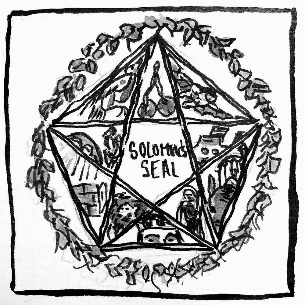 Pentangle Solomons Seal