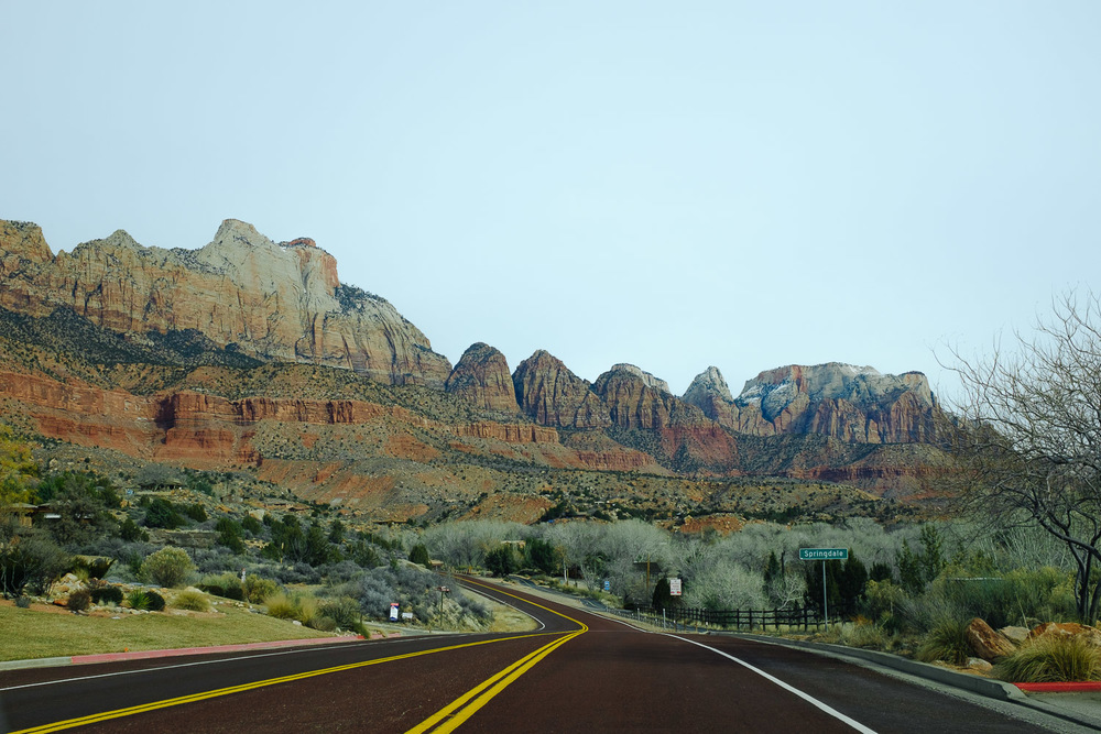 Arrived to Springdale, Utah. Closest town around Zion