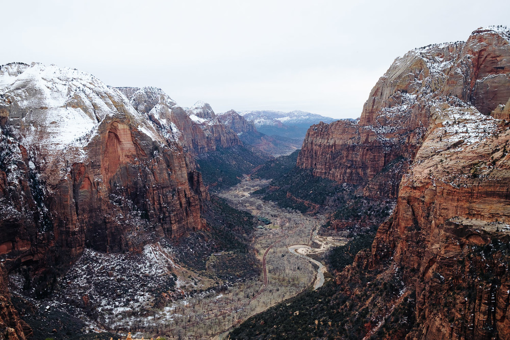 View at the peak.
