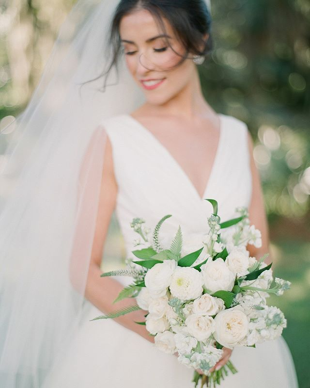 The dreamy and flawless #BettyBride Lauren in the @CarolinaHerra Chloe gown. Photo by @JulieLivingstonPhotography. . . . . .#classicbrides #charlestonbrides #carolinaherrerabridal #southernbride #charlestonbridal