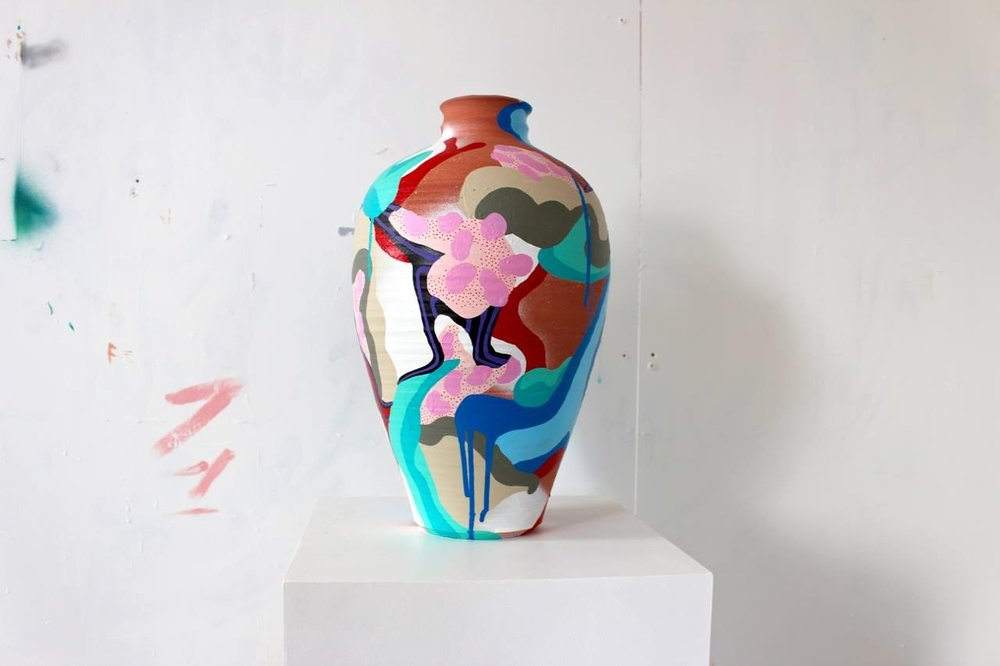 Collaborative exhibition   'Nice Things' - By James Lesjak-atton & Edward WhitelockNice things is a collaborative exhibition which shall showcase a range of innovative and traditional ceramic pieces adorned with bright, playful and graphic paintings.Opening + Live Music with BILLSBRYWed 21 Feb 2018..... Show running till 21 March ......