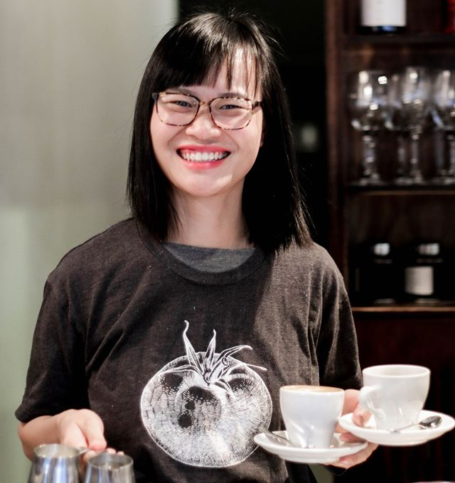 The incredible Oahn. 4 years at Hip but just 4 weeks with the Richmond Rd team. She's cut her teeth on almost every Hip venue and now brings her incredible talent, vivacious smile and cheeky wit to RRC! Taking the Grey out of the Lynn.  #humansofhipgroup  #richmondrdcafe #hipgrouplife #greylynn #ponsonby