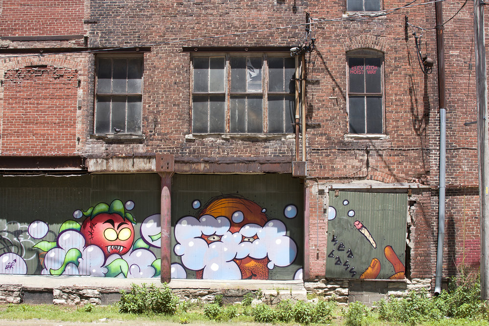 West Bottoms, Kansas City, Missouri. June, 2015