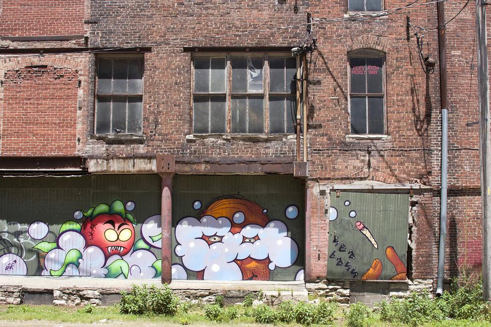 West Bottoms, Kansas City, Missouri. June, 2015