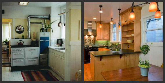 Laguna Kitchen BEFORE & AFTER