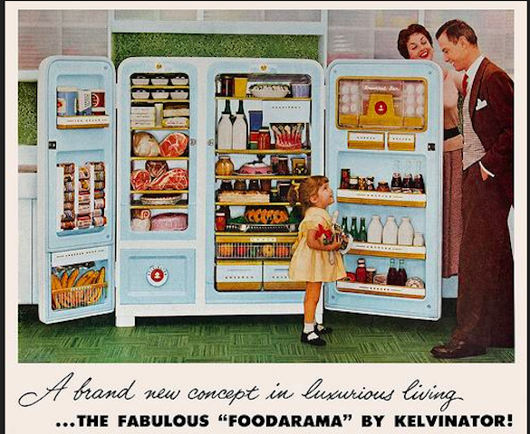 A vintage ad of the Foodarama