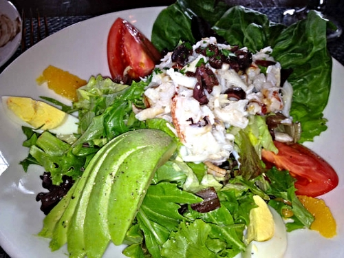 Lake Chalet crab louie