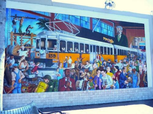 mural on 41st