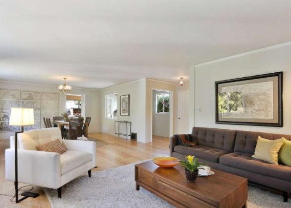 SFGate.com | Feb 2016 | Oakland midcentury includes two lots, enticing setting
