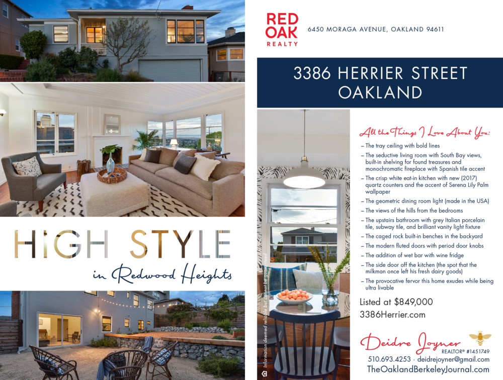 3386 Herrier Street, Oakland