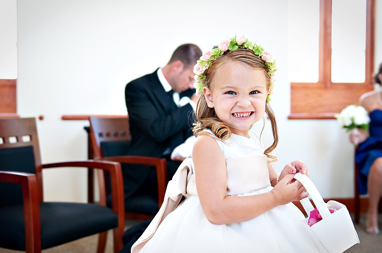the most adorable flower girl...ever!