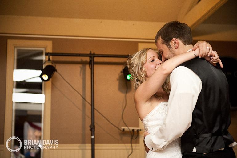 Erica and Jordan's first dance!