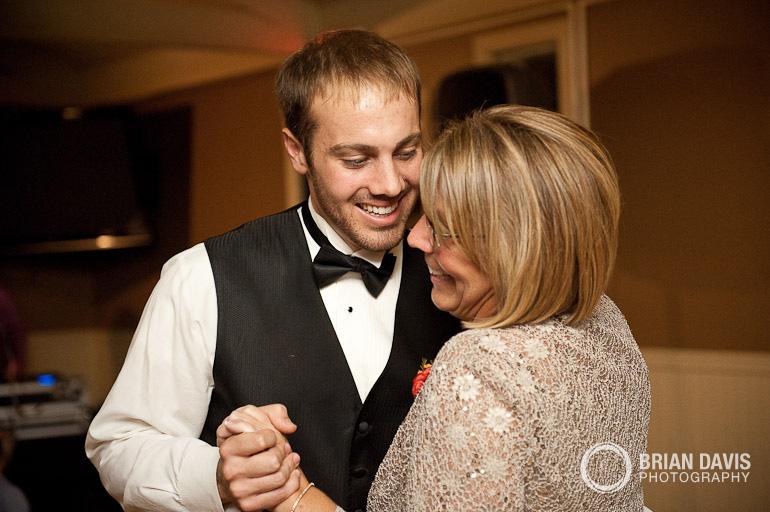 Jordan dancing with his mom