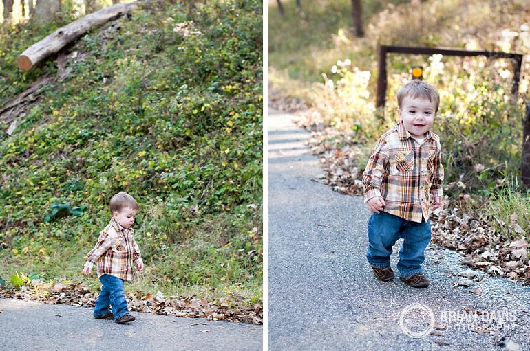 Eli taking a stroll