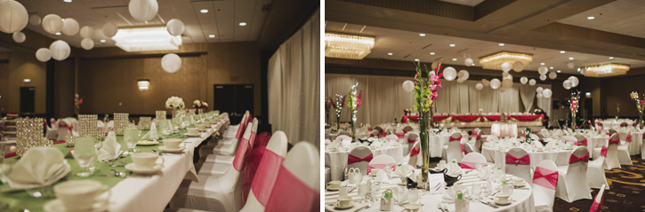 Laura's elegant ballroom at the Embassy Suites in Des Moines, Iowa