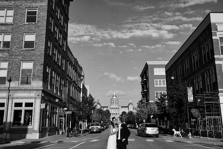 adam and luisa's des moines iowa wedding