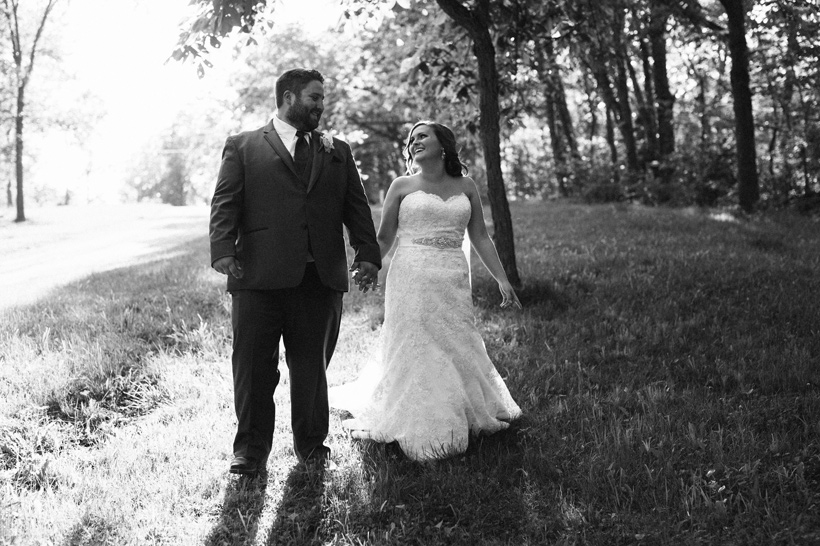 Brittany and Luke Marshalltown Wedding | Iowa Wedding Photographer Brian Davis