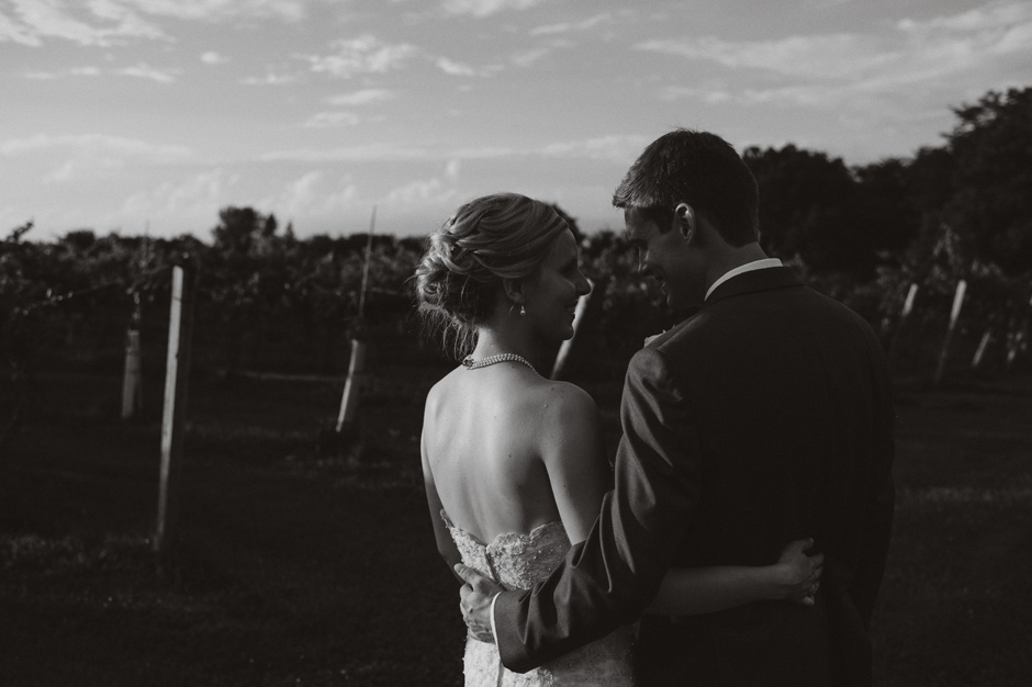 Emily and Josh Summerset Winery Wedding | Iowa Wedding Photographer Brian Davis